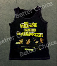 Track Ship+Retro Cool Vest Tank Top Camis Perks Being Wallflower We are Infinite TV Television Drama Good Friend Travel 1039(Hong Kong)