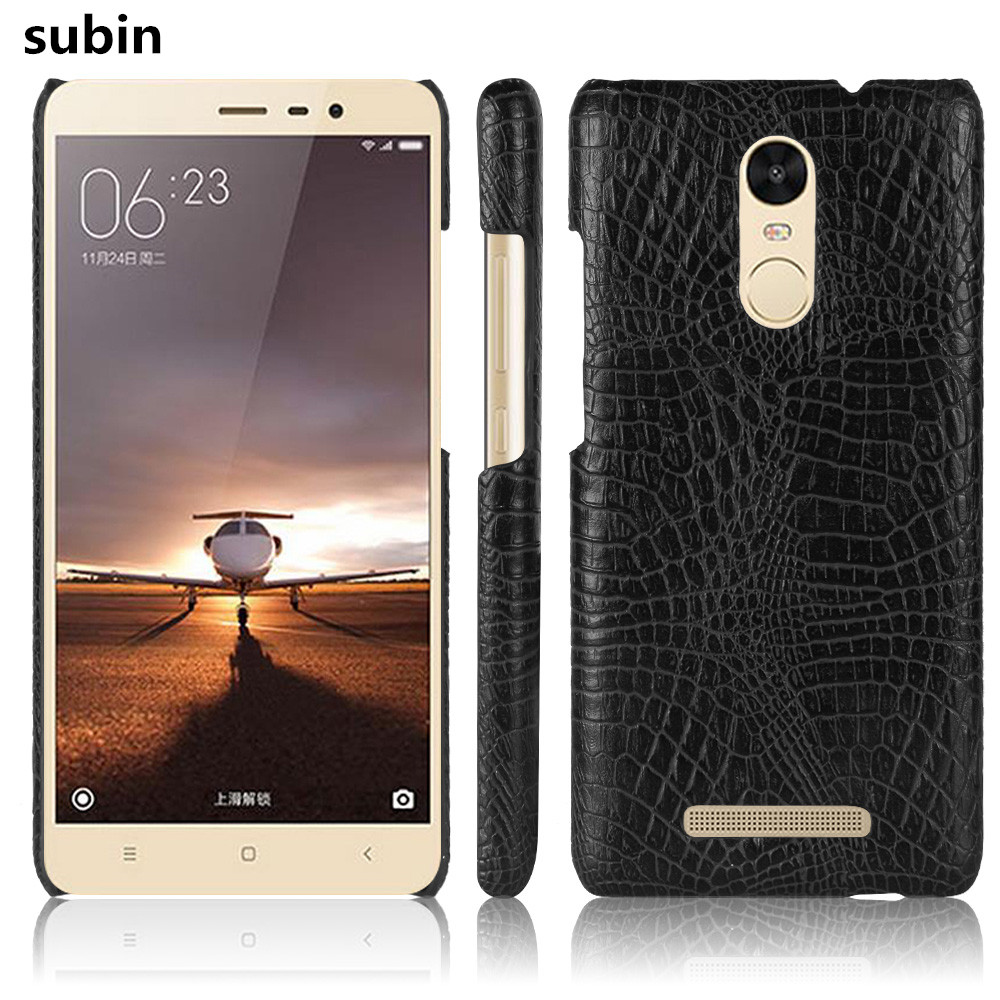 New arrival Xiaomi Redmi Note 3 Case 5.5inch Retro Luxury Crocodile Skin Cover Xiaomi Redmi Note 3 Pro Phone Bag Case