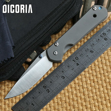 DICORIA small sebenza 21 kevin jhon folding knife S35VN blade TC4 Titanium handle camping hunt tactical survive knives EDC tools