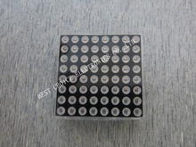 Free shipping  1pcs/lot 3MM 8X8 red common anode high 7mm32 * 32 LED dot matrix digital control module 1008BS