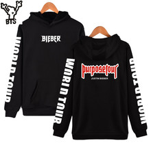 BTS Justin Bieber Purpose Tour New Brand Sweatshirt Men Hoodies Fashion in Fear of God Mens Hoodies and Sweatshirts Clothes 4xl