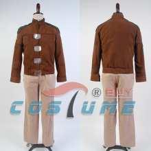 Battlestar Galactica 1978 Galactica Uniform Brown Coat Jacket Pant For Men Halloween Carnival Cosplay Costume