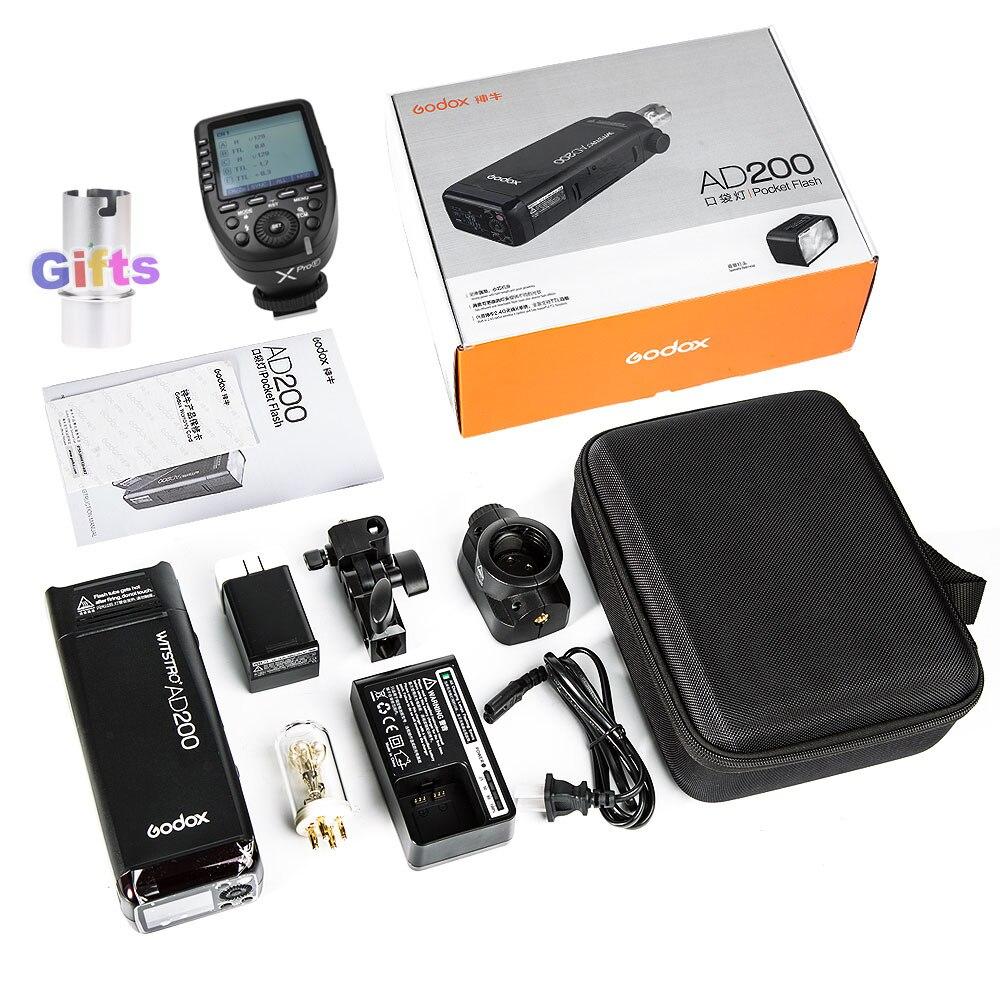 Godox Pocket Flash AD200+Xpro-F Kit For Fuji (4)