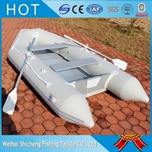 Shicheng 230 Aluminum Floor PVC Inflatable Sport Boat