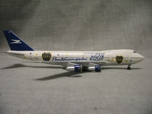 Your craftsman 1:400   747-200  passenger plane model  lv - ooz