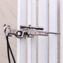 2017 New Cs Go Sniper Rifle Necklace Counter Strike Name Tag Pendant Neckless CSGO Gun Collier Jewelry Game Theme Cs Go