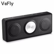 VeFly fm radio wireless bluetooth speaker, portable music computer notebook speakers for phone with USB TF boombox mp3 player