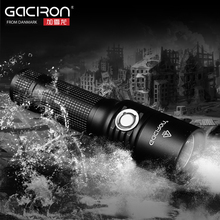 GACIRON Bicycle Bike Mini Portable Cycling Torch Headlight Flash Light&USB Rechargeable 860 Lumens Lamp Cree-XM-LU 2 LED 5 Modes(China)