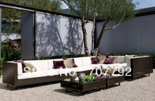 NEW!Outdoor furniture Rattan Sectional sofa set