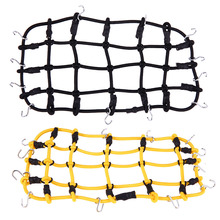 Luggage Net 1:10 RC Rock Crawler Elastic Luggage Net for Axial SCX10 90046 Tamiya CC01 RC4WD D90 D110 Trax RC Rock Car Accesory(China)