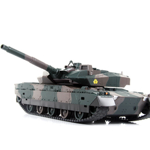 40CM Camouflage RC Tank Model Electric Remote Control Tank Toys For Children Boys Birthday Gifts Learning Toy Electronic Games(China)