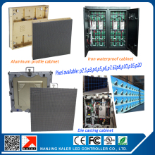 TEEHO P6 outdoor full color led display outdoor p6 led modules 576576mm die-cast aluminum waterproof rental led display board