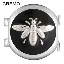 Cremo Elastic Connector Changeable Links Enamel Butterfly Decoration Cuff Bracelet Modular Clasp Charm Jewelry Accessories(China)
