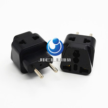 2016 1 to 2 Splitter Universal UK/US/EU/AU 3 Pins / 2 Pins Socket to Italy Travel Power Adapter Plug Italy, EU 4.0MM PLUG TYPE C(China)