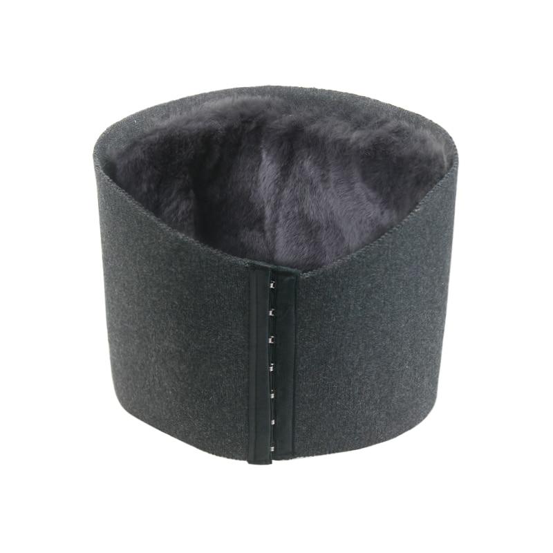 Otter Rabbit Hair Cashmere Warmful Waist Belt Protector Keep Warm Uterus Stomach Belly In Autumn Winter for Men and Women<br>