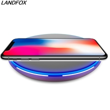 Hot sale Qi Wireless Charger Wireless Charger Pad Wireless iPhone X 8 Plus Samsung Galaxy S8 S7 Edge Google Nexus Lumia 920
