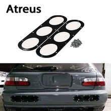 Atreus 2X Car Styling Bumper Race Deflector Air Diffuser Panel For Toyota Corolla Avensis Rav4 c-hr Seat leon ibiza Mini Cooper(China)