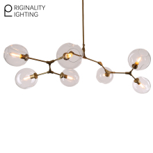 Lindsey Adelman 7 Globe Branching Bubble Glass Modern Pendent Light Chandelier Fixtures lamparas lampara Chandelier ceiling Loft