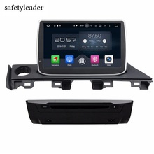"2GB RAM Octa Core 9"" Android 6.0 Car dvd Player for Mazda 6 Atenza 2017 With GPS Radio Bluetooth 4G WIFI USB DVR OBD Mirror-link(China)"