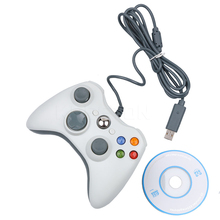 kebidu  High Standard Fashion Design Useful USB Wired USB Game Controller Joystick Gamepad For PC Laptop Computer