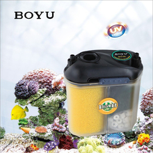 150L/h BOYU EFU-05 Compact Aquarium Canister Filter with 5W UV Sterilizer for Fish Tank Up to 70 Liters Filter Media Included(China)