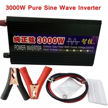 3000W Pure Sine Wave DC/AC Inverter DC12V/24V/48V/60V to AC 220V Power Inverter Converter for Refrigerator/air conditioner