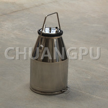 25L Stainless Steel201 Milk Can, Milk Bucket for Goat Milking Machine