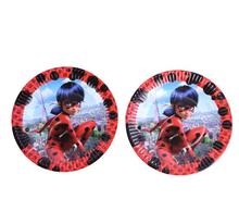 Miraculous Ladybug Cat Tableware Birthday Party Decoration Table Cloth cups Paper plate knife fork spoon flag banner  sc 1 st  AliExpress.com & Popular Ladybug Birthday Banner-Buy Cheap Ladybug Birthday Banner ...