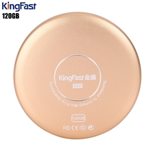 KingFast P600 Ultra-thin USB 3.0 120GB Metal Solid State Drive for Desktop / Laptop Support Windows XP / 7 / Vista / 10