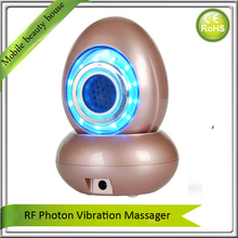 2017 NEW Ultrasonic Vibration RF Photon Light Therapy Anti Aging Wrinkle Remover Skin Tightening Moisturizing Skin Care Machine(China)