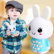 Lovely Creative Little Rabbit music/Story Player Baby Early Learning Educational Cute Toys for Children Kids Fun Game Gifts