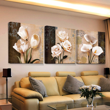 3 piece art hd print bilder cheap modern for living room wall canvas prints cuadros decoracion flores modular triptych painting