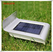 16 LED Outdoor Light Panel Motion Sensor Moved Solar Energy Led Energy Saving Lamp Wall Lamp Solar Security Lights for Outdoor G