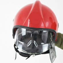 Free Shipping Can Resistant 300 Degree PEI Fire safety helmet