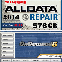 Car maintenance software Alldata 10.53 2015+ElsaWin+vivid workshop ect all data 24 in1 1.5TB/1TB ultra large capacity Alldata