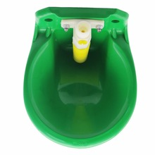 5 sets Animal drinkers Cattle Sheep Horse Swine Dog automatic water bowl 18cm Farm animal feeders Cattle and sheep equipment(China)