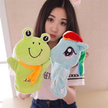 Puppet Toy  kids  Cartoon animal puppet doll plush toys   puzzle game Children's Day gift kids boys Girls Puppet  toy    TO174