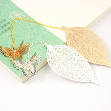 The Metal Retro Chinese Style Leaves Veins Bookmarks Little Antique Present Items Eco Friendly Package Fine Paper Book Marks