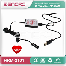 Computer Earlobe Finger Clip USB Heart Rate Monitor(China)