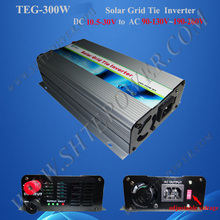 300W MPPT On Grid Tie Inverter for Solar Panel System DC 10.8V-28V to AC 120V 220V