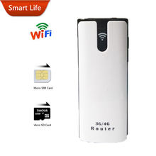3G Wifi Router Mifi Dongle Unlock Mobile Car Wifi Broadband Hotspot Extender Modem With Power Bank