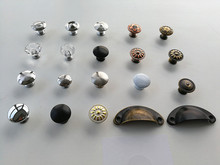 variety style color Stainless steel Door Drawer Cabinet Wardrobe Pull Handle Knobs furniture Hardware handle Wholesale(China)