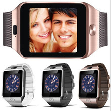 Toper DZ09 Smart Watch On Wrist Bluetooth Wrist Watch For Android For Samsung Huawei Sony English Sim Card Sleep Tracker Adult