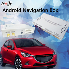 Quad-Core Android Gps Navigation Car Video Interface box For Mazda 2 Connect Tv WIFI BT MirrorLink Play Store(China)