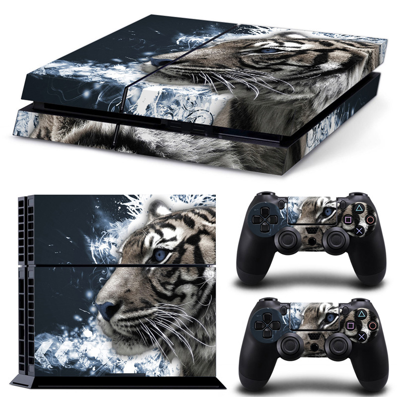 Animal Designs Sticker Skin Cover Warp Decal For PS4 game accessories title=