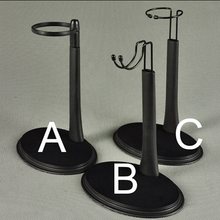 1/6 Stand Figure Body Black A/B/C Type Display Stand Holder Fixed the Waist Adjustable Height For 1/6 Action Figure Accessories(China)