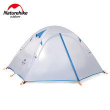 POINT BREAK 3 Person Outdoor Tent Double Layer Waterproof Dome Camping Family Double door tent
