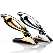 JP VIP Vertical Luxury 100% 3D Metal Hood Ho Car Auto Emblem Badge Sticker Logo for Buick Honda Toyota Car Styling