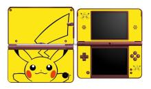 Pikachu 307 Vinyl Skin Sticker Protector for Nintendo DSI XL LL for NDSI XL LL skins Stickers