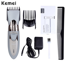Buy 200-240V Waterproof Kemei Electric Hair Clipper Razor Men Shaver Hair Trimmer Cutting Machine Rechargeable Haircut Barber Tool for $5.00 in AliExpress store
